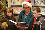 at the Christmas Story time in the Library..Photo NEWSFILE/Jenny Matthews.(Photo credit should read Jenny Matthews/NEWSFILE)....This Picture has been sent you under the condtions enclosed by:.Newsfile Ltd..The Studio,.Millmount Abbey,.Drogheda,.Co Meath..Ireland..Tel: +353(0)41-9871240.Fax: +353(0)41-9871260.GSM: +353(0)86-2500958.email: pictures@newsfile.ie.www.newsfile.ie.FTP: 193.120.102.198.