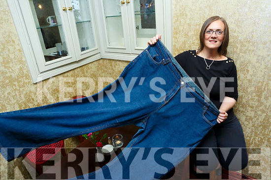Stephanie Smith from Abbeyfeale who lost over 11 stone, pictured here last Monday afternoon