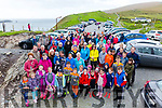 A great turnout for the Eanna Coffey remembrance walk up Bray Head on Saturday despite the weather conditions.
