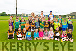 At the Austin Stacks GAA Cul Camp on Monday