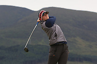 Anna Redding (USA) on the 2nd tee during Round 2 of the Women's Amateur Championship at Royal County Down Golf Club in Newcastle Co. Down on Wednesday 12th June 2019.<br /> Picture:  Thos Caffrey / www.golffile.ie