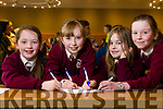 Muire Gan Smal, Castleisland, Bella Harmon, Blaithin O'Mahony, Eilis Enright, Colene O'Callaghan at the Chapter 23 Credit Union Table Quiz at Ballyroe Heights Hotel on Sunday