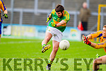 Ian Galvin South Kerry in Action against Kieran Fitzgibbon Kenmare in the County Senior Football Semi Final at Fitzgerald Stadium Killarney on Sunday.