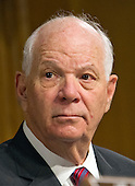 United States Senator Ben Cardin (Democrat of Maryland), Ranking Member, US Senate Committee on Foreign Relations, at the hearing considering the nomination of Rex Wayne Tillerson, former chairman and chief executive officer of ExxonMobil to be Secretary of State of the US on Capitol Hill in Washington, DC on Wednesday, January 11, 2017.<br /> Credit: Ron Sachs / CNP