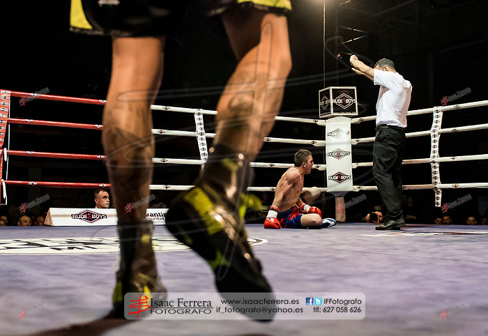 Boxing Time Valencia.<br /> Velada de boxeo.<br /> May 26, 2017.<br /> Sedavi, Valencia - Spain.
