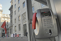 - Milan, headquarters  of telecommunications company Telecom  in Stock Exchange square....- Milano, sede centrale della compagnia di telecomunicazioni Telecom in piazza degli Affari