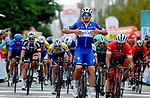Alvaro Hodeg (COL) Quick-Step Floors wins Stage 5 of the 54th Presidential Tour of Turkey 2018, running 135.7km from Sel&ccedil;uk to Manisa, Turkey. 13th October 2018.<br /> Picture: Brian Hodes/VeloImages | Cyclefile<br /> <br /> <br /> All photos usage must carry mandatory copyright credit (&copy; Cyclefile | Brian Hodes/VeloImages)