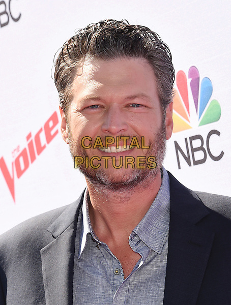 WEST HOLLYWOOD, CA - APRIL 21: Musician Blake Shelton arrives at 'The Voice' Karaoke For Charity event at HYDE Sunset: Kitchen + Cocktails on April 21, 2016 in West Hollywood, California.<br /> CAP/ROT/TM<br /> &copy;TM/ROT/Capital Pictures