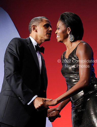 United States President Barack Obama and First Lady Michelle Obama attend the Congressional Hispanic Caucus Institute's 33rd Annual Awards Gala at the Washington Convention Center in Washington D.C., Wednesday, September 15, 2010..Credit: Olivier Douliery / Pool via CNP