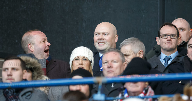 Rangers fans having a chuckle