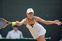 26-6-09, England, London, Wimbledon, Elena Dementieva