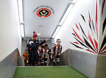 Mascots wait for the players during the Championship match at the Bramall Lane Stadium, Sheffield. Picture date 27th September 2017. Picture credit should read: Simon Bellis/Sportimage