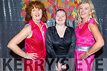 Dancing Queens Evonne O'Brien, Ann Marie Ladden and Marie O'Connor at the Inspired Monster Mash Ball in the Ashe Hotel on Thursday.