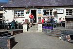 Sloop Inn pub Porthgain Pembrokeshire Wales