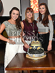 Deirdre McCabe celebrating her 50th birthday in Brú with her daughters Amber and Ashley. Photo:Colin Bell/pressphotos.ie
