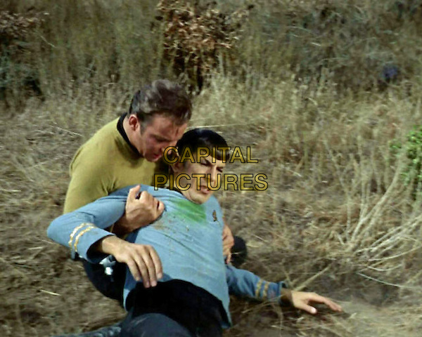 &quot;Star Trek&quot; (1966)<br /> Season 2 - Episode 19 - Publicity still of William Shatner &amp; Leonard Nimoy <br /> *Editorial Use Only*<br /> CAP/NFS<br /> Image supplied by Capital Pictures