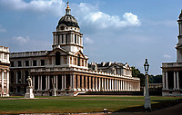 Greenwich: Royal Naval Hospital--Queen Mary's Block. (Photo '79)