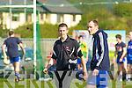 Derek Burke Castleisland Desmonds Bainisteoir at the Celebrity Banisteoir match in Castleisland on Saturday