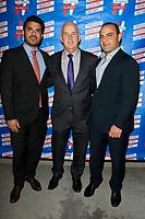 LOS ANGELES - SEP 25: Arash Zabetian, Pat Harris, Tigrn Martinian at 'Pat Harris' California Democratic U.S. Senate run 2018 kick off' at Catalina Jazz Club Bar & Grill on September 25, 2017 in Hollywood, California