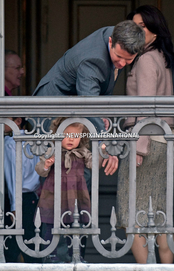 "QUEEN MARGRETHE ll.celebrated her 69th birthday, as she appeared alongside other members of the Danish Royal family on the balcony of Amalienborg Palace..The Queen was accompanied by the Prince Consort Henrik, Crown Prince Frederik, Crown Princess Mary; Prince Christian; Princess Isabella; HRH Prince Joachim, Prince Nikolai, and Prince Felix and for the first time on the balcony Princess Marie_Copenhagen, Denmark_16/04/2009..Mandatory Credit Photo: ©NEWSPIX INTERNATIONAL..**ALL FEES PAYABLE TO: ""NEWSPIX INTERNATIONAL""**..IMMEDIATE CONFIRMATION OF USAGE REQUIRED:.Newspix International, 31 Chinnery Hill, Bishop's Stortford, ENGLAND CM23 3PS.Tel:+441279 324672  ; Fax: +441279656877.Mobile:  07775681153.e-mail: info@newspixinternational.co.uk"