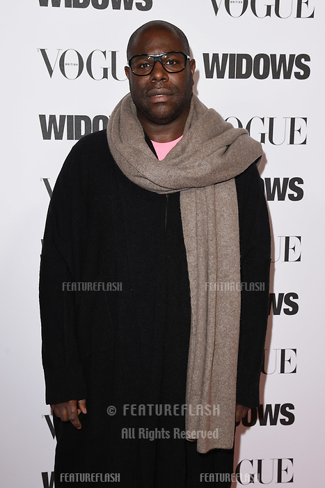 LONDON, UK. October 31, 2018: Steve McQueen at the &quot;Widows&quot; special screening in association with Vogue at the Tate Modern, London.<br /> Picture: Steve Vas/Featureflash