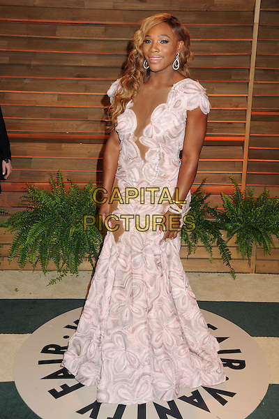 02 March 2014 - West Hollywood, California - Serena Williams. 2014 Vanity Fair Oscar Party following the 86th Academy Awards held at Sunset Plaza. <br /> CAP/ADM/BP<br /> &copy;Byron Purvis/AdMedia/Capital Pictures