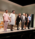 Brenda Pressley, Michael Esper, Linda Lavin, Dick Latessa & Gregory Wooddell.during the Opening Night Performance Curtain Call for Nicky Silver's 'The Lyons' at the Vineyard Theatre in New York City.