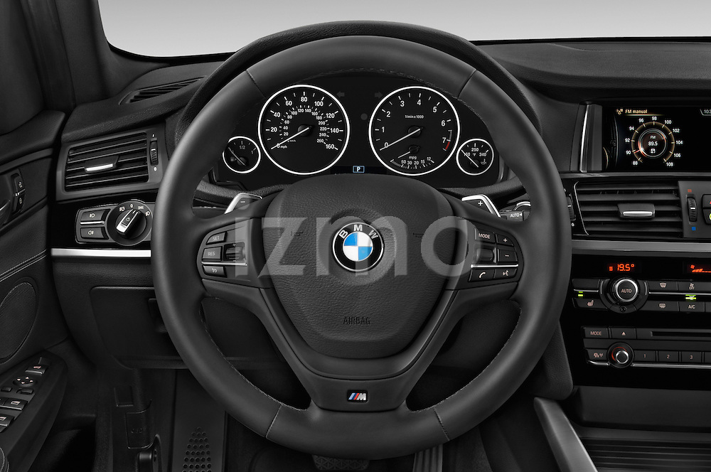 Car pictures of steering wheel view of a 2016 BMW X3 xDrive28d 5 Door SUV Steering Wheel