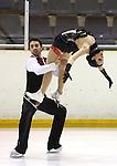 2011 ISU figure skating championships, Els patinadors espanyols Sara Hurtado i Adria Diaz han participat en el mundial de Moscu. Fotos del camionat d'Espanya