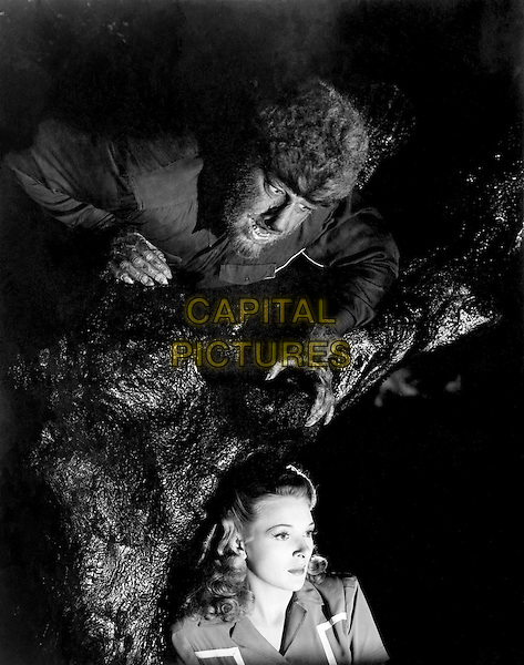 LON CHANEY JR. & EVELYN ANKERS.in The Wolf Man (1941).*Filmstill - Editorial Use Only*.CAP/FB.Supplied by Capital Pictures.