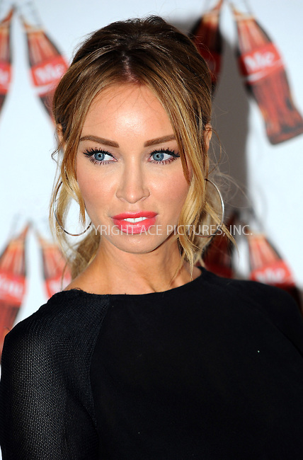 WWW.ACEPIXS.COM....US Sales Only....May 9 2013, London....Lauren Pope at the launch of Coca-Cola's Share a Coke campaign at One Marylebone on May 9 2013 in London....By Line: Famous/ACE Pictures......ACE Pictures, Inc...tel: 646 769 0430..Email: info@acepixs.com..www.acepixs.com