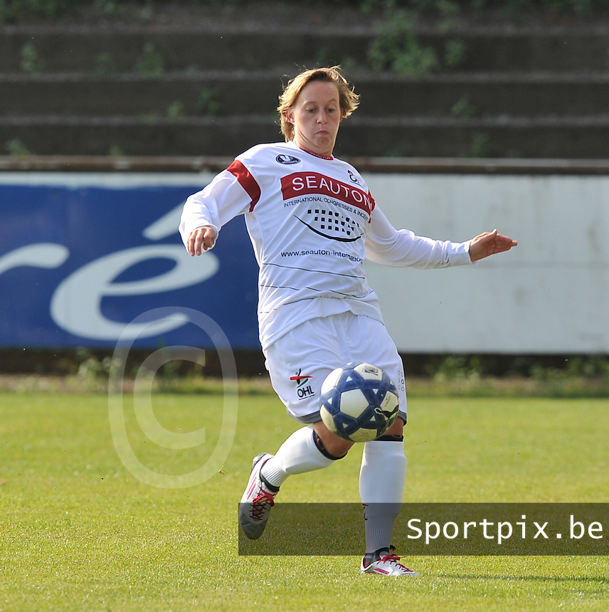 OHL Oud Heverlee Leuven Dames : Charlotte Taelemans.Foto David Catry / Vrouwenteam.be