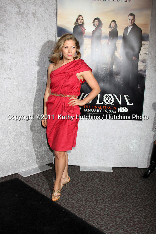 """LOS ANGELES - JAN 12:  Branka Katic arrives at the """"Big Love"""" Season 5 Premiere  at Director's Guild of America on January 12, 2010 in Los Angeles, CA."""
