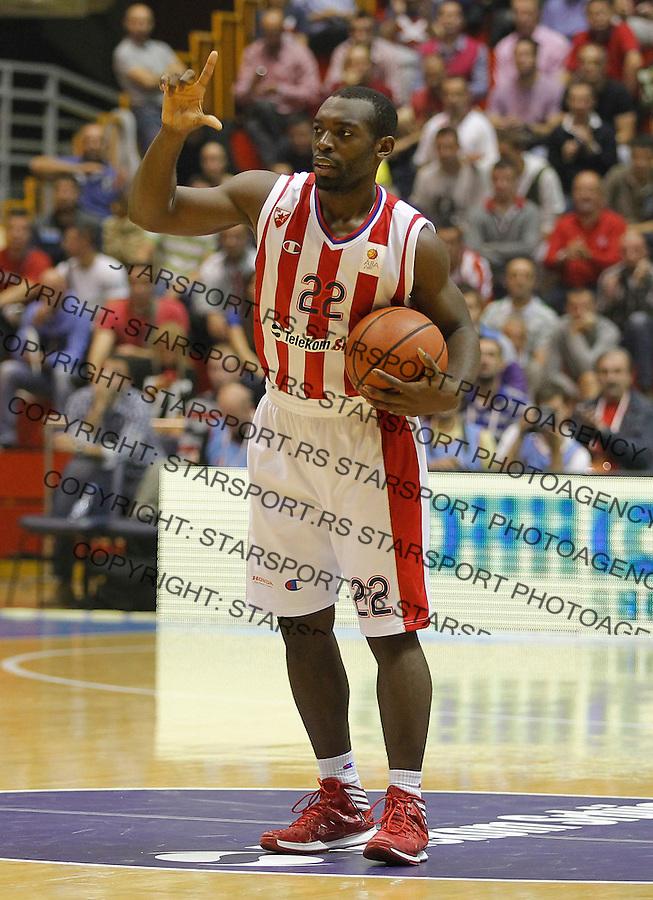 Kosarka ABA League season 2013-2014<br /> Crvena Zvezda v Radnicki (Kragujevac)<br /> Charles Jenkins<br /> Beograd, 12.10.2013.<br /> foto: Srdjan Stevanovic/Starsportphoto &copy;