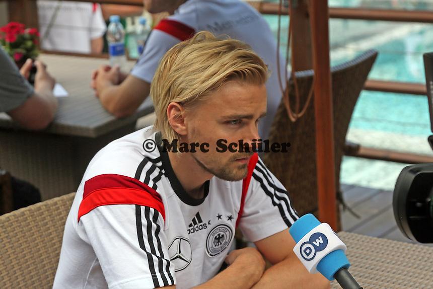 Marcel Schmelzer - Media Day der Deutschen Nationalmannschaft zur WM-Vorbereitung in St. Martin