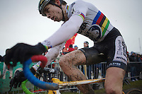 U23 World CX Champion Wout Van Aert (BEL)<br /> <br /> 2014 Noordzeecross