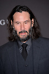 LOS ANGELES, USA. November 03, 2019: Keanu Reeves at the LACMA 2019 Art+Film Gala at the LA County Museum of Art.<br /> Picture: Paul Smith/Featureflash