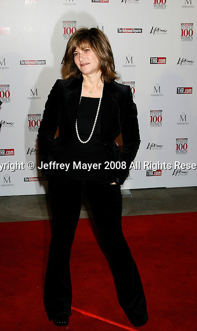 BEVERLY HILLS, CA. - December 05: Sony Pictures Entertainment Co-Chairman Amy Pascal arrives at The Hollywood Reporter`s Annual Women In Entertainment Breakfast at the Beverly Hills Hotel on December 5, 2008 in Beverly Hills, California..