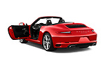 Car images close up view of a 2017 Porsche 911 Carrera 2 Door Convertible doors