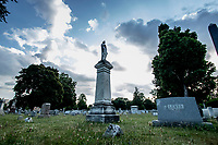 Mt. Hope Cemetery, Rochester NY, July 2018.  (Photo by Brian Cleary/bcpix.com