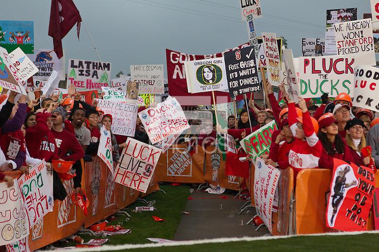 STANFORD, CA - November 12, 2011: ESPN's Game Day at Stanford University
