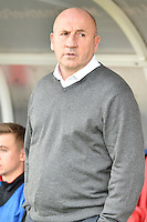 John Coleman manager of Accrington Stanley  during the Sky Bet League 2 match between Crawley Town and Accrington Stanley at Broadfield Stadium, Crawley, England on 22 October 2016. Photo by Edward Thomas / PRiME Media Images.