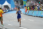 Yurie Kato (JPN), <br /> AUGUST 20, 2016 - Triathlon : <br /> Women's Final <br /> at Fort Copacabana <br /> during the Rio 2016 Olympic Games in Rio de Janeiro, Brazil. <br /> (Photo by Koji Aoki/AFLO SPORT)