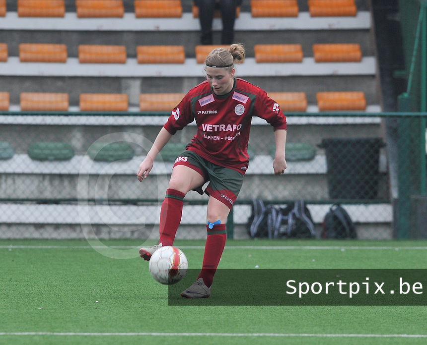 Dames Zulte - Waregem : Jana Coryn.foto DAVID CATRY / Vrouwenteam.be