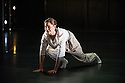 "London, UK. 15.04.2014. HeadSpaceDance present IF PLAY IS PLAY..., a triple bill of new work, in the Linbury Studio, Royal Opera House, London. Picture shows:  Clemmie Sveaas in ""Before the Interval"", by Luca Silvestrini. Photograph © Jane Hobson."