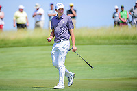 Matt Fitzpatrick (ENG) after sinking his putt on 11 during Thursday's round 1 of the 117th U.S. Open, at Erin Hills, Erin, Wisconsin. 6/15/2017.<br /> Picture: Golffile | Ken Murray<br /> <br /> <br /> All photo usage must carry mandatory copyright credit (&copy; Golffile | Ken Murray)