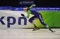 SCHAATSEN: HEERENVEEN: 11-12-2014, IJsstadion Thialf, International Speedskating training, Floor van den Brandt, ©foto Martin de Jong
