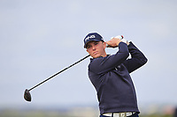 Jeff Wright (Forres) on the 5th tee during Round 1 of the The Amateur Championship 2019 at The Island Golf Club, Co. Dublin on Monday 17th June 2019.<br /> Picture:  Thos Caffrey / Golffile<br /> <br /> All photo usage must carry mandatory copyright credit (© Golffile | Thos Caffrey)