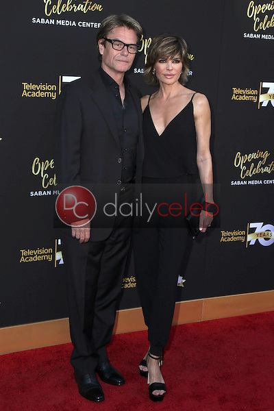 Harry Hamlin, Lisa Rinna<br />