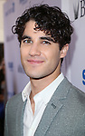 Darren Criss backstage at United presents 'Stars in the Alley' in  Shubert Alley on May 27, 2015 in New York City.